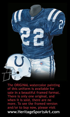 Indianapolis Colts 2005 uniform