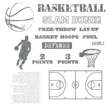 Game Day Basketball Stamp Brush Set - Digital Download  - http://jennsavstamps.stampinup.net