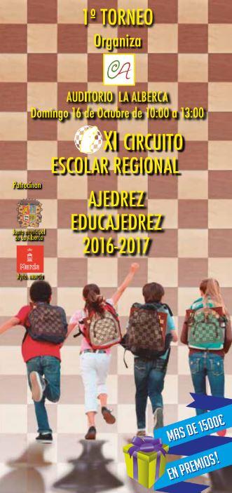 XI Circuito Escolar Ajedrez Educajedrez 2016 - 2017