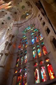 Sagrada Famillia barcelona inside location