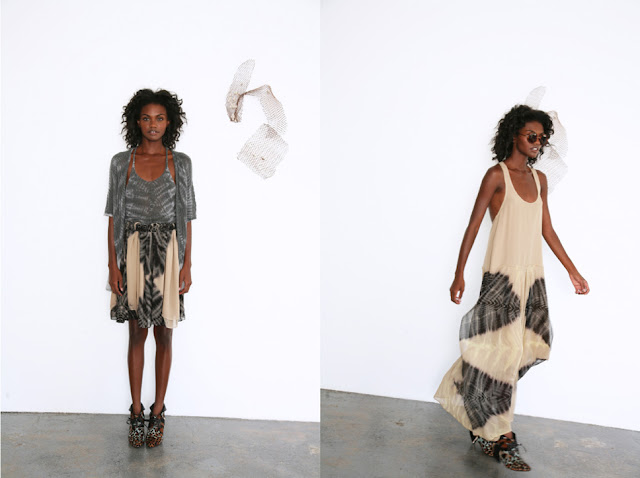 Raquel Allegra Spring 2013 Collection