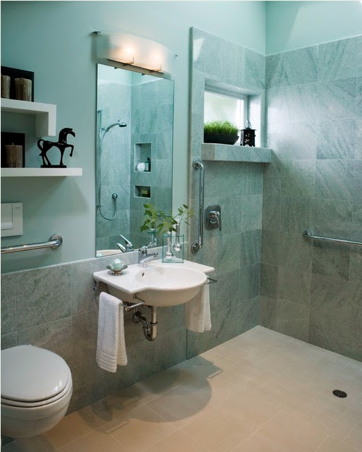 Ada bathroom design for House simple restroom design