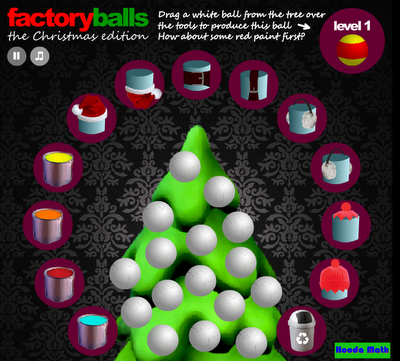 http://www.hoodamath.com/games/factoryballsthechristmasedition.html