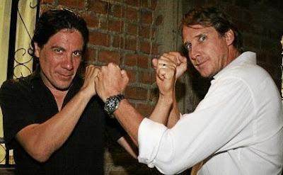 Bruno Odar junto a Christian Thorsen