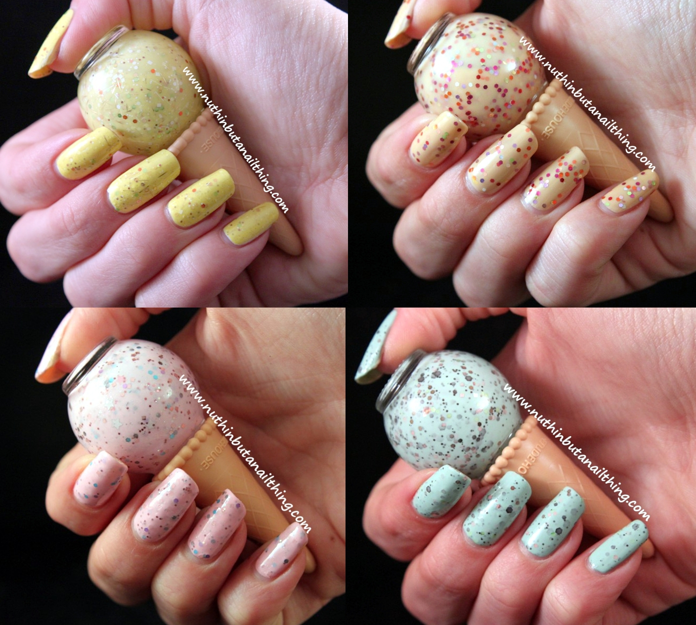 nuthin\' but a nail thing: Etude House: Sweet Recipe Ice Cream Nail ...