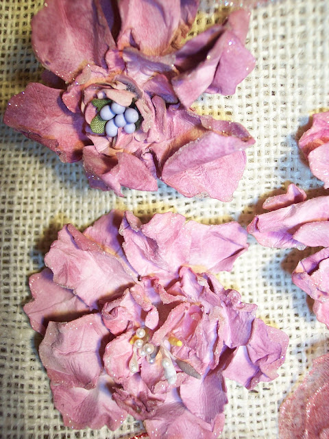 Dryer Sheet And Dried Flowers Crafts