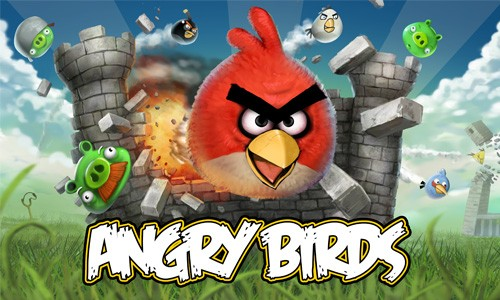 Angry Birds, google chrome