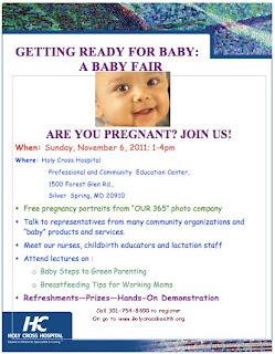 Baby Fair at Holy Cross Hospital
