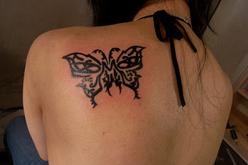 Butterfly Tattoos on the Shoulder-2