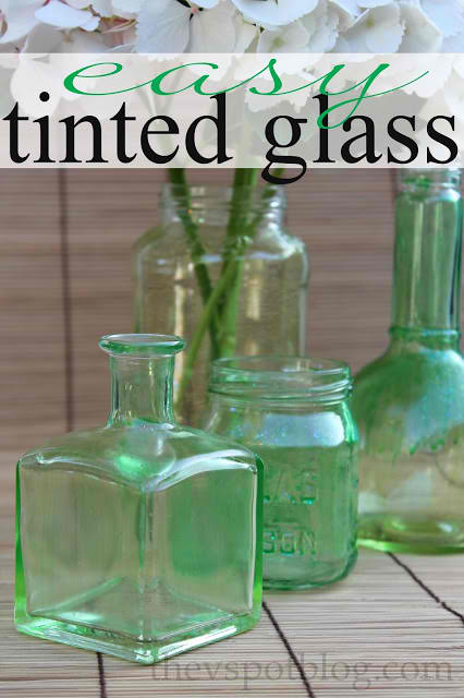 Crafts with jars diy colored glass jars for Diy crafts with glass jars and bottles