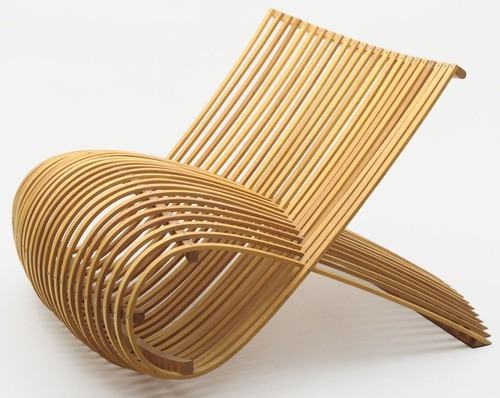 furniture and wood shavings marc newson