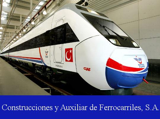 CAF - Construcciones y Auxiliar de Ferrocarriles, S.A.