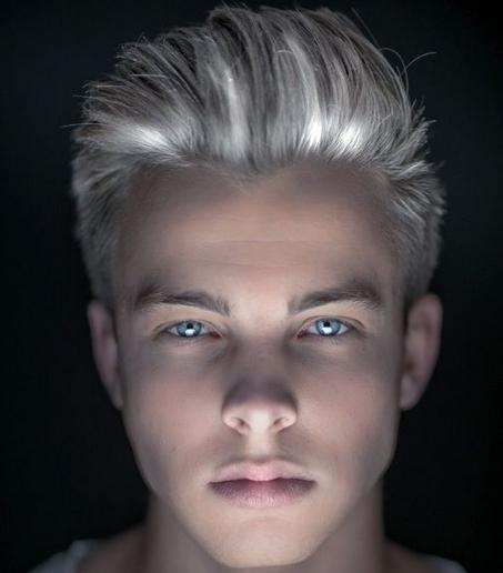 warna rambut untuk pria  style rambut