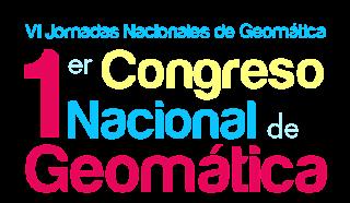 1er Congreso Nacional de Geomatica
