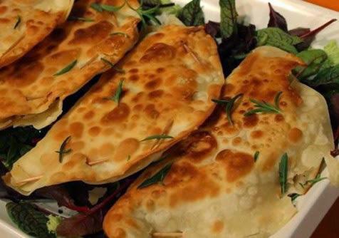 شاورما بخبز التورتيلا