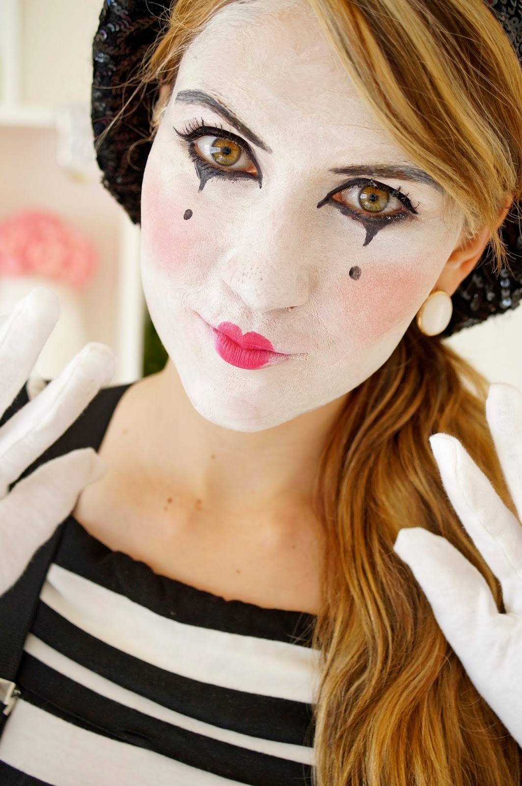 See how easy that was?! Hope you are all enjoying these simple DIY Halloween costume ideas... stay tuned to see more!  sc 1 st  The Joy of Fashion & The Joy of Fashion: Halloween: Last Minute Homemade Mime Costume