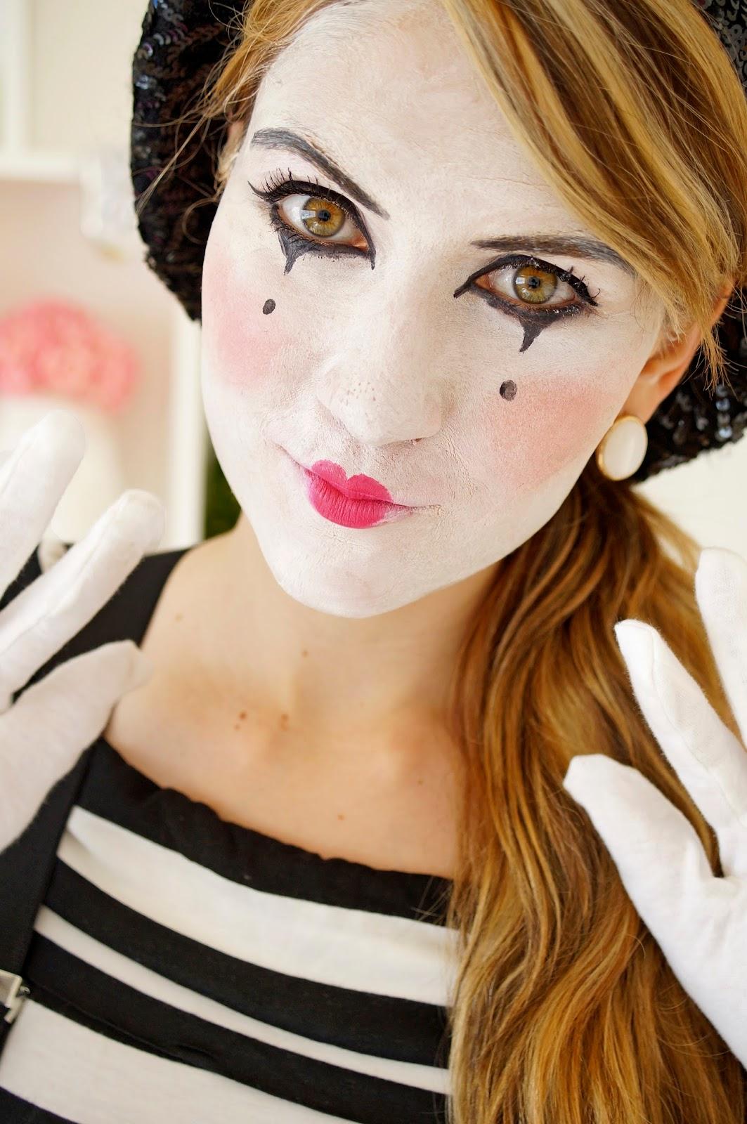 Mime Makeup Happy Mime Makeup