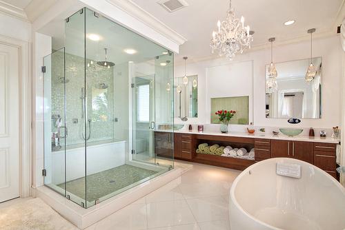 cuarto de baño ordenado