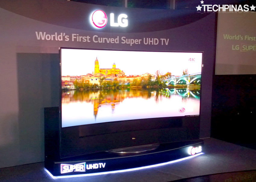 Largest UHD Curved Ultra HD TV, LG 105UC9