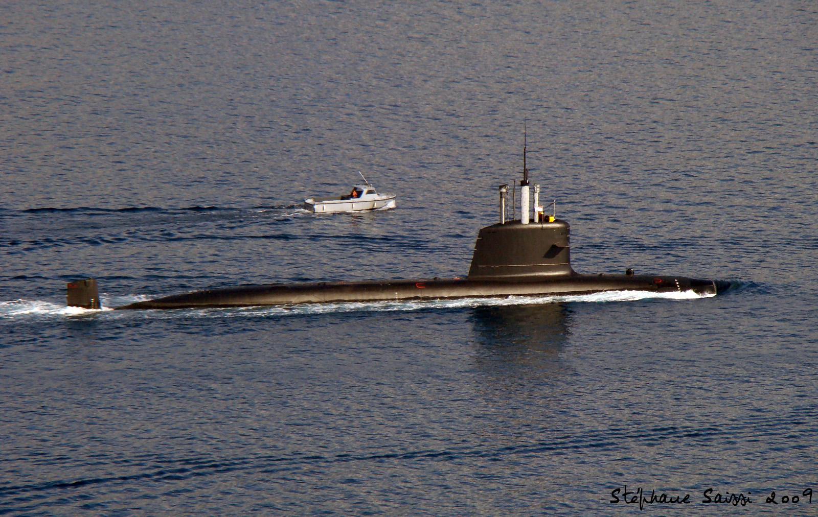 Malaysian Navy Submarine