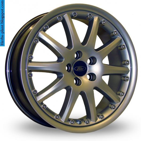 Ford mondeo car 2013 tyres/wheels - صور اطارات سيارة فورد مونديو 2013