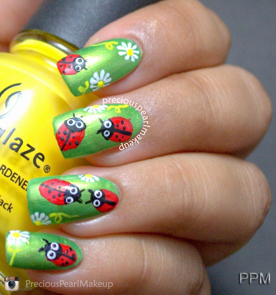 Nail Art Ladybug The Best Inspiration For Design And Color Of The