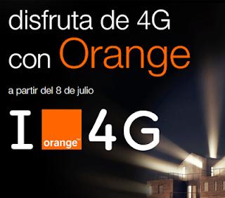 Orange conectividad 4G