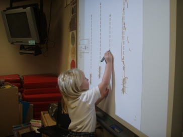 Handwriting on the Smartboard