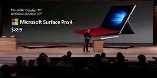 Η παρουσίαση του Surface Pro 4