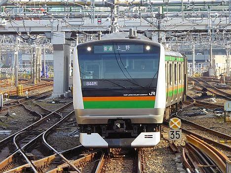 宇都宮線 普通 上野行き E233系