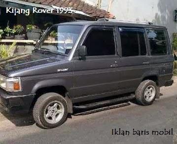 Dijual - Toyota Kijang Rover 1993, iklan baris mobil