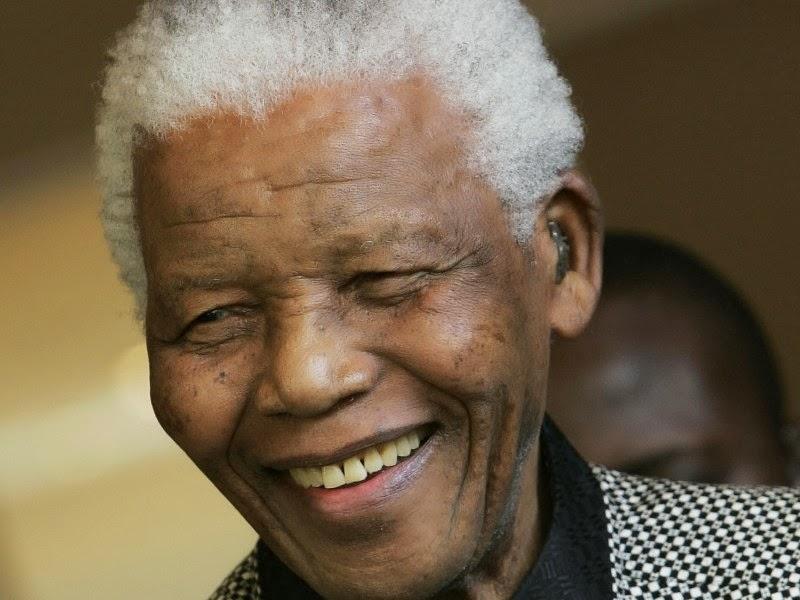 NELSON MANDELA 1918 - 2013.