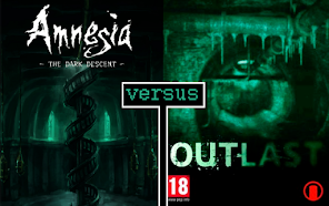 Amnesia: The Dark Descent vs. Outlast