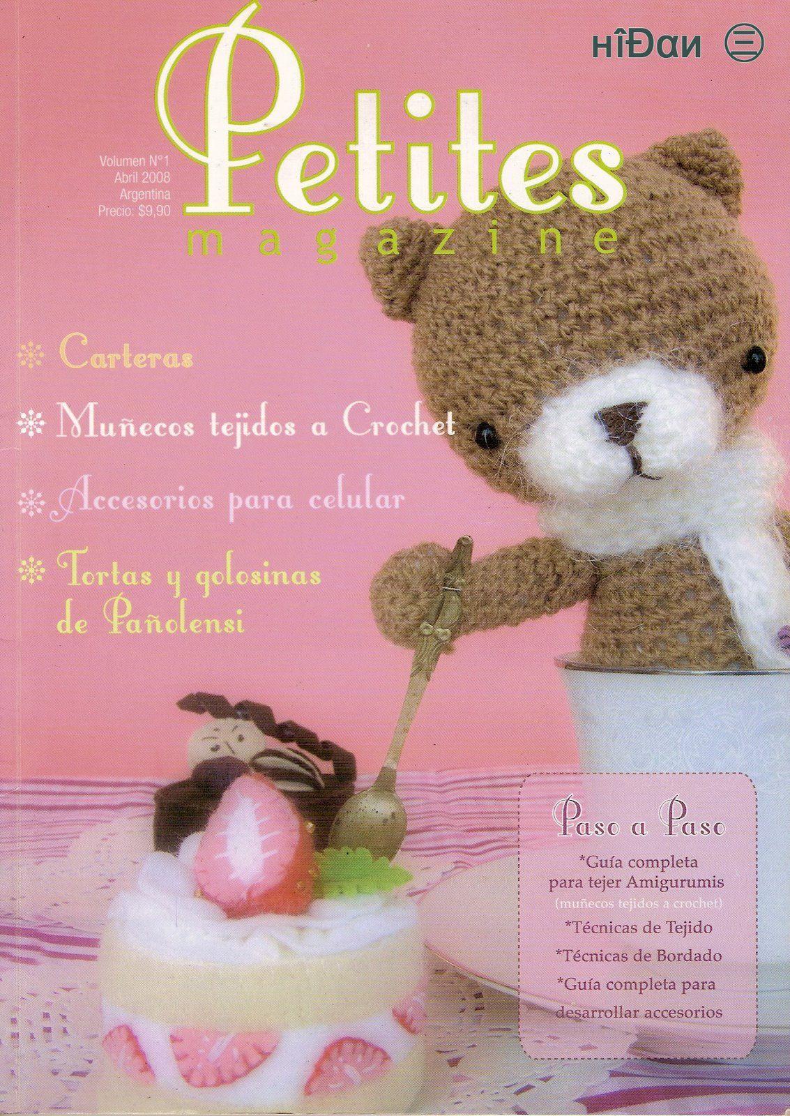 Petites Magazine Amigurumi : Revista: Petites magazine (ideal para amantes de las ...