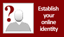 establish an online identify, create a powerful online identity