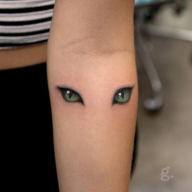 Resultado de imagen de tatuajes de gatos