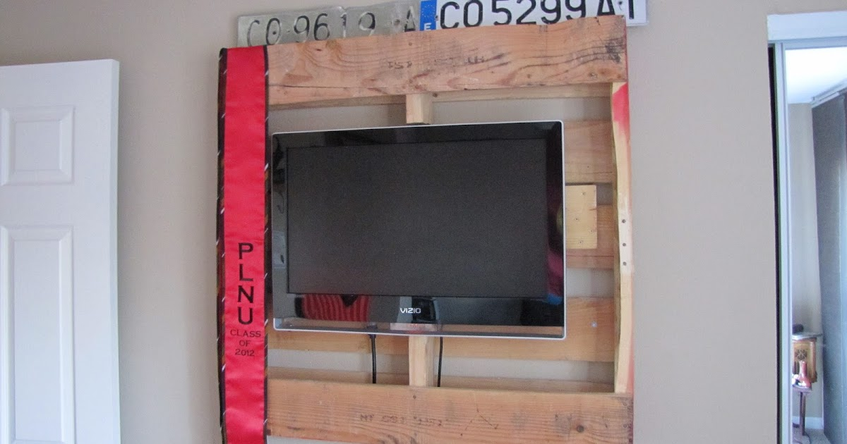 CT3 DIY PROJECTS: DIY TV Wall Mount