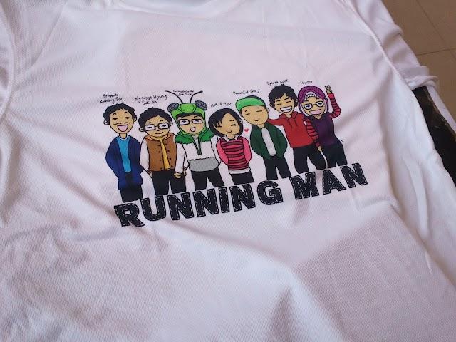 T-shirt Running Man FREE