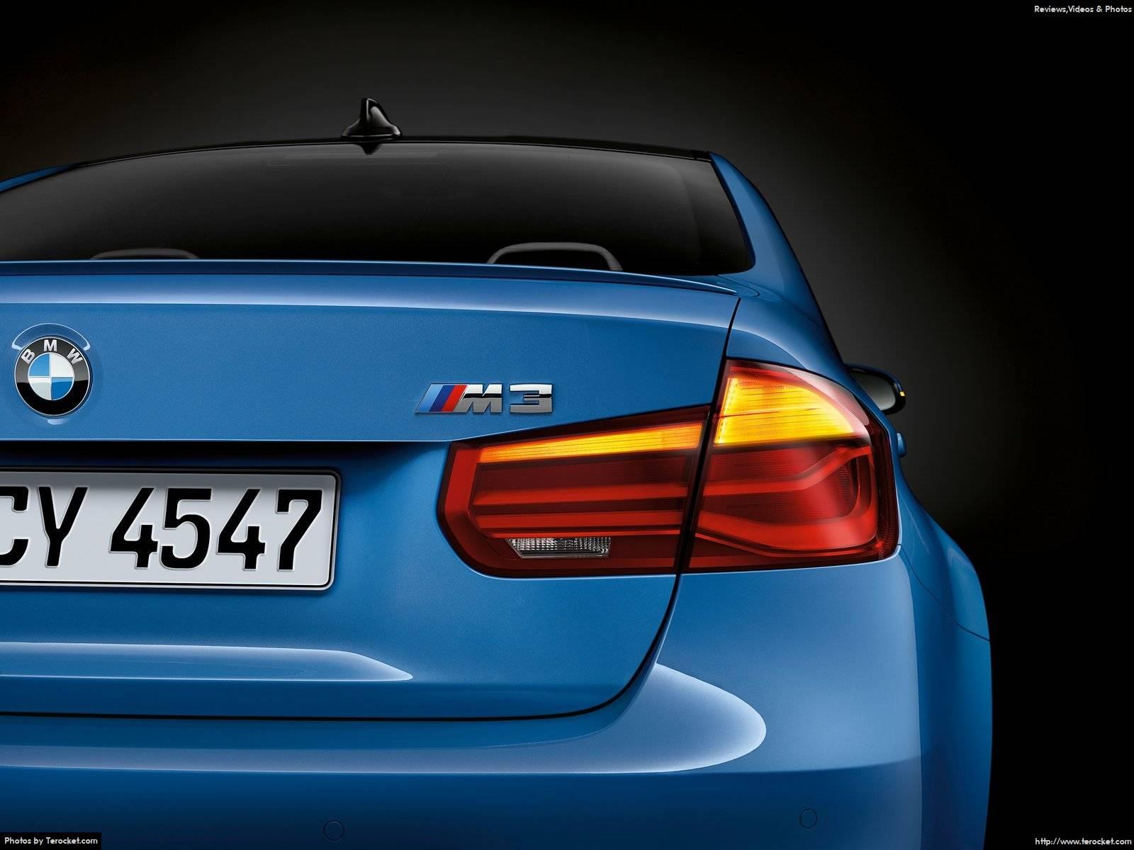 Hình ảnh xe ô tô BMW M3 Sedan 2016 & nội ngoại thất