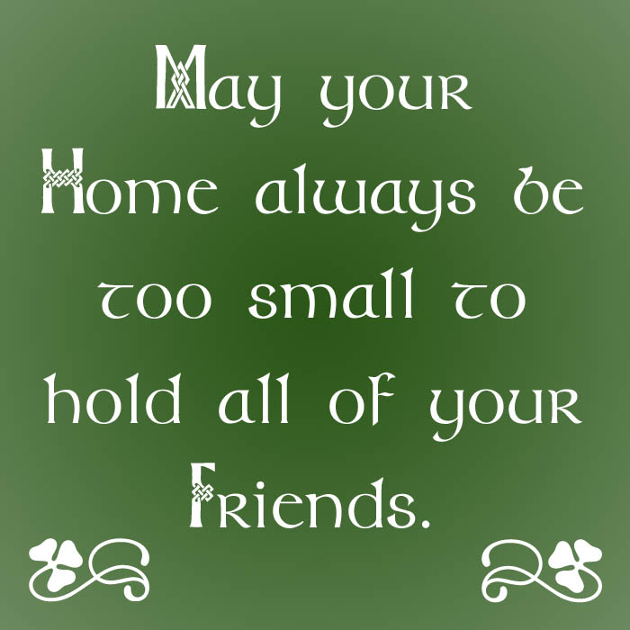Irish Sayings For Friendship : Irish Quotes Friendship Blessings Quotesgram
