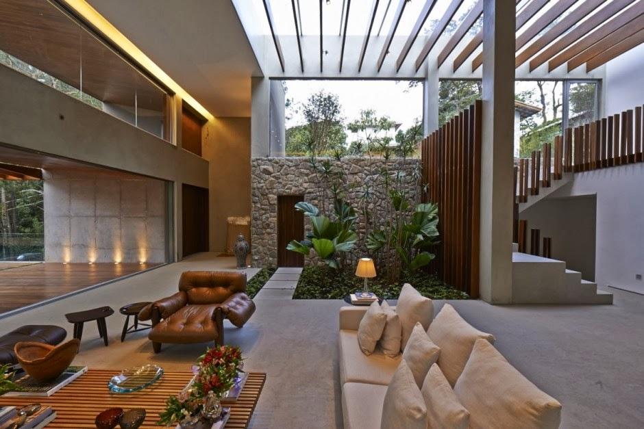 Casa Bosque Da Ribeira Anastasia Arquitetos Brasil