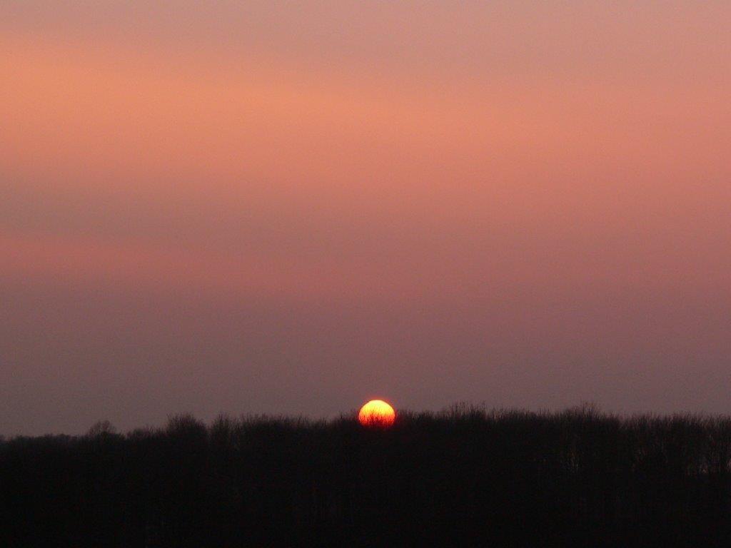 Dortmund Sonnenuntergang