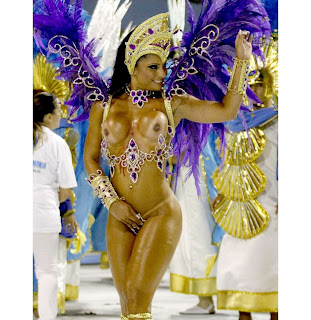Carnival nude hot topless Rio Brazil dancer Samba HD HQ foto