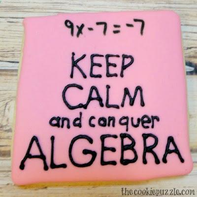 Algebra Cookies