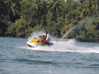 Jet Ski at Tsunami Island