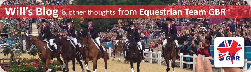 Will's Blog and other thinkings from Equestrian Team GBR