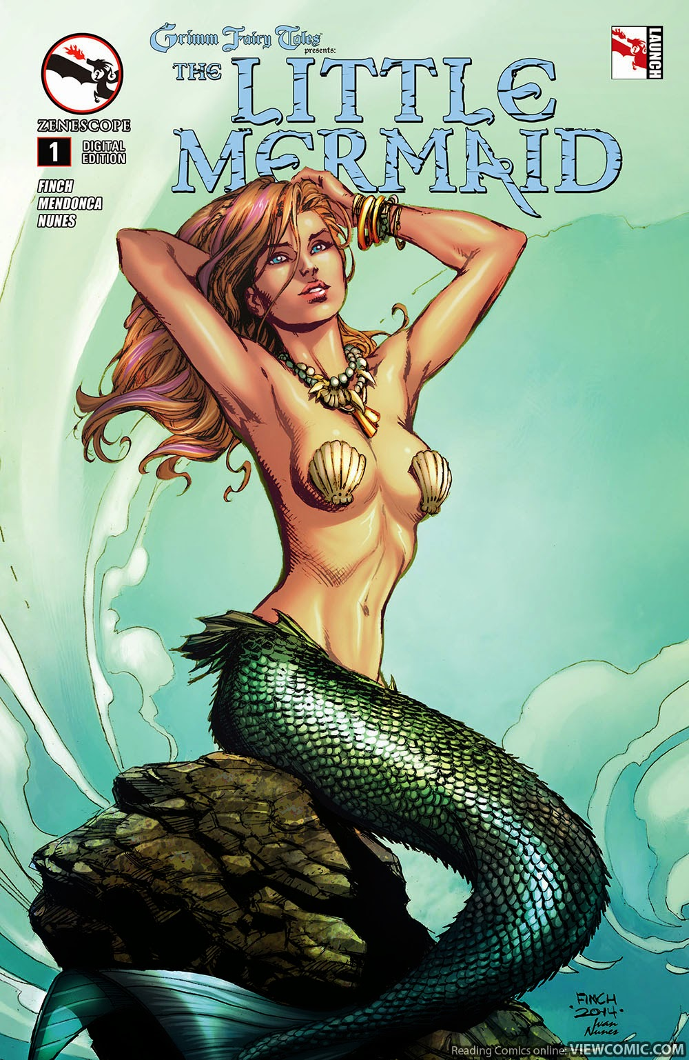 Uncategorized Online Fairy Tales grimm fairy tales presents the little mermaid viewcomic reading 001 2015