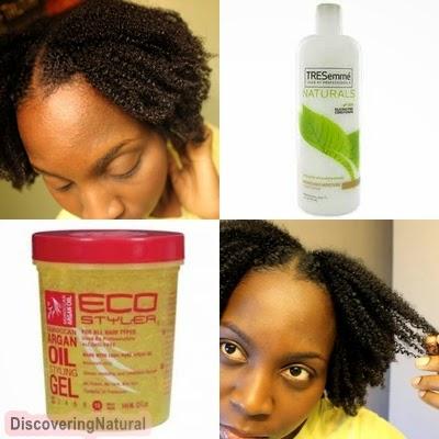 Wash and Go 4B 4C Natural Hair