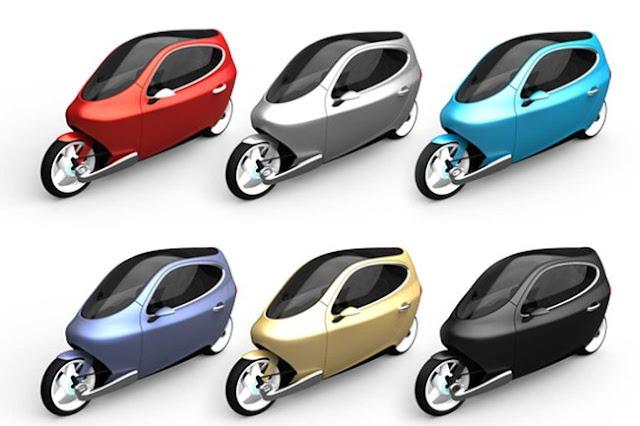 motoblogn lit motors c 1 untippable electric two wheel car. Black Bedroom Furniture Sets. Home Design Ideas