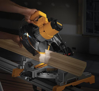 the dewalt 713 in action